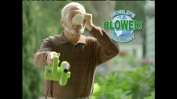 Pocket Blower TV Spot, 'Compact Power Cleaning' - Thumbnail 2