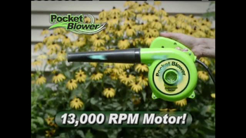 Pocket Blower TV Spot, 'Compact Power Cleaning'