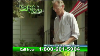 Pocket Blower TV Spot, 'Compact Power Cleaning' - Thumbnail 8