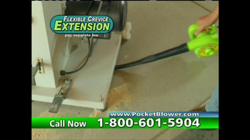 Pocket Blower TV Spot, 'Compact Power Cleaning' - Thumbnail 9