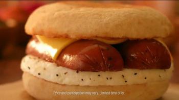 Dunkin' Donuts Smoked Sausage Breakfast Sandwich TV Spot, 'I Did' - Thumbnail 7