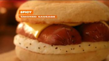Dunkin' Donuts Smoked Sausage Breakfast Sandwich TV Spot, 'I Did' - Thumbnail 8