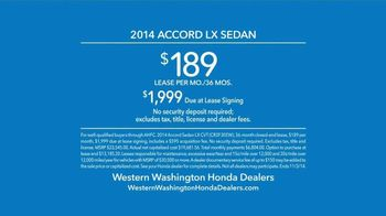 Honda Accord Clearance Event TV Spot, 'More Features: 2014 Accord' - Thumbnail 9