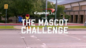 Capital One Mascot Challenge 2014 TV Spot, 'Why Did Cocky Cross The Road?' - Thumbnail 1