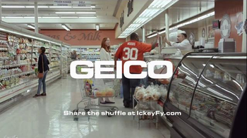 GEICO TV Spot, 'Did You Know: Ickey Shuffle' Featuring Ickey Woods - Thumbnail 8