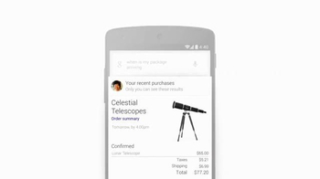 Google App TV Spot, 'Telescope' - Thumbnail 6