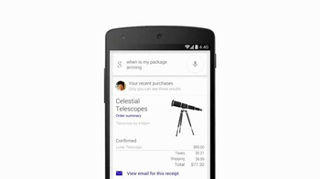 Google App TV Spot, 'Telescope' - Thumbnail 7