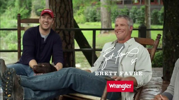 Wrangler Five Star Premium Denim TV Spot, \'Comfort\' Featuring Brett Favre
