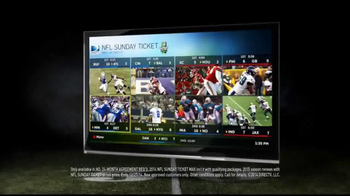 DIRECTV NFL Sunday Ticket TV Spot, 'Tree' - Thumbnail 9