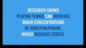 United States Tennis Association TV Spot, 'Makes You Stress Free' - Thumbnail 9
