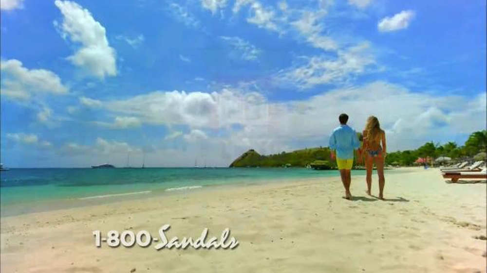 Sandals Resorts TV Commercial, 'Love is All You Need' Song by Bill Medley