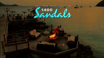 Sandals Resorts TV Spot, 'Love is All You Need' Song by Bill Medley - Thumbnail 10