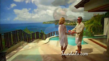 Sandals Resorts TV Spot, 'Love is All You Need' Song by Bill Medley - Thumbnail 8
