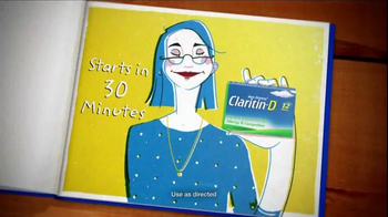 Claritin-D TV Spot, 'A Tale of Two Sufferers' - Thumbnail 4