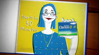 Claritin-D TV Spot, 'A Tale of Two Sufferers' - Thumbnail 5