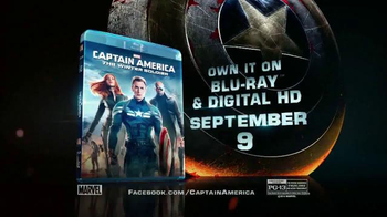 Captain America: The Winter Soldier Blu-ray TV Spot