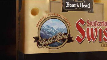 Boar's Head Switzerland Swiss Cheese TV Spot, 'From the Swiss Alps to You' - Thumbnail 2