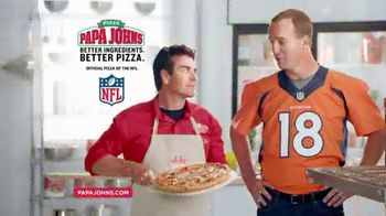 Papa John's Kick Off Special TV Spot, 'It Works' Featuring Peyton Manning
