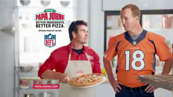 Papa John's Kick Off Special TV Spot, 'It Works' Featuring Peyton Manning - 1405 commercial airings