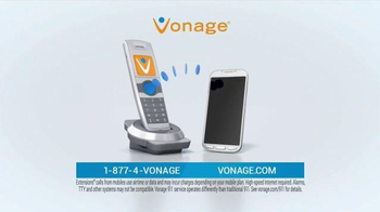 Vonage Unlimited Nationwide Calling TV Spot, 'Traditional Home Phone' - Thumbnail 4