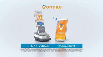 Vonage Unlimited Nationwide Calling TV Spot, 'Traditional Home Phone' - Thumbnail 5