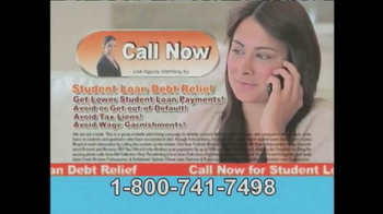 Student Loan Debt Relief TV Spot, 'So You Can Pay Much Less' - Thumbnail 10