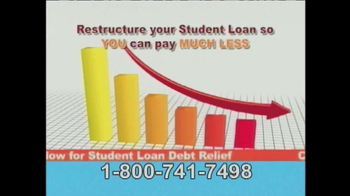Student Loan Debt Relief TV Spot, 'So You Can Pay Much Less' - Thumbnail 6