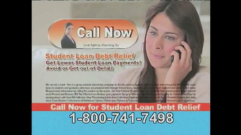 Student Loan Debt Relief TV Spot, 'So You Can Pay Much Less' - Thumbnail 9