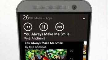 Microsoft Windows HTC One Phone TV Spot, 'Siri vs. Cortana: Mirror Mirror'