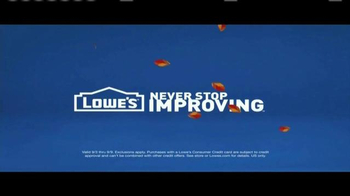 Lowe's TV Spot, 'How to Install a New Washing Machine with One Finger' - Thumbnail 10