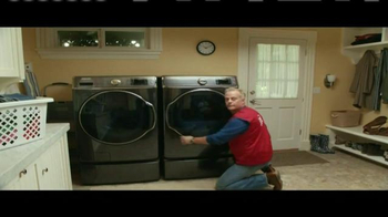 Lowe's TV Spot, 'How to Install a New Washing Machine with One Finger' - Thumbnail 7