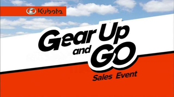 Kubota Gear Up and Go Sales Event TV Spot, 'Now is the Time' - Thumbnail 3