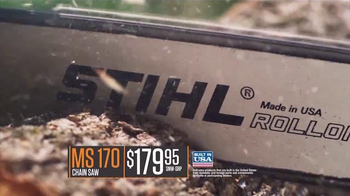 STIHL MS170 Chain Saw TV Spot, 'Quality' - Thumbnail 5