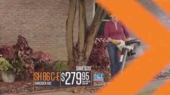 STIHL MS170 Chain Saw TV Spot, 'Quality' - Thumbnail 6