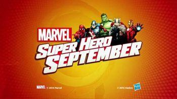 Marvel Battle Masters TV Spot, 'Super Hero September: Show Your Super Hero Side'