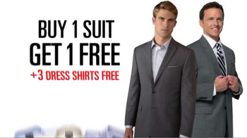 JoS. A. Bank TV Spot, 'September BOGO Suits + 3 Dress Shirts' - Thumbnail 4