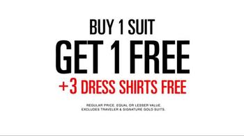 JoS. A. Bank TV Spot, 'September BOGO Suits + 3 Dress Shirts' - Thumbnail 8