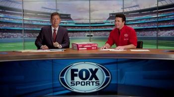Papa John's TV Spot, 'FOX Halftime Report' Feat. Troy Aikman - Thumbnail 9