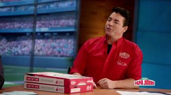 Papa John's TV Spot, 'FOX Halftime Report' Feat. Troy Aikman - Thumbnail 1