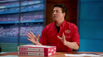 Papa John's TV Spot, 'FOX Halftime Report' Feat. Troy Aikman - 3 commercial airings