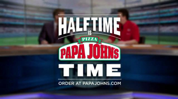 Papa John's TV Spot, 'FOX Halftime Report' Feat. Troy Aikman - Thumbnail 8