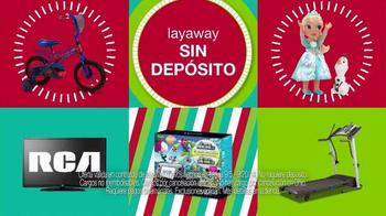 Kmart Layaway TV Spot, 'Sin Depósito' [Spanish]