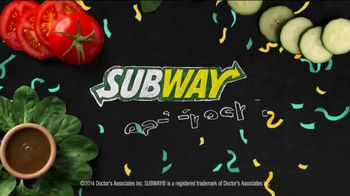 Subway Sweet Onion Chicken Teriyaki TV Spot, 'Subtember Celebration' - Thumbnail 9