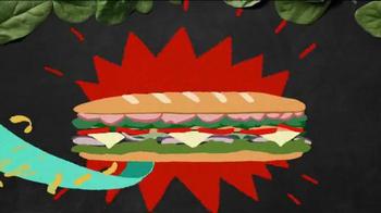 Subway Sweet Onion Chicken Teriyaki TV Spot, 'Subtember Celebration' - Thumbnail 2