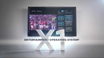 XFINITY X1 Entertainment Operating System TV Spot, 'Most Live Sports' - Thumbnail 10