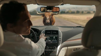 2015 Lincoln MKC TV Spot, 'Bull' Featuring Matthew McConaughey - Thumbnail 8