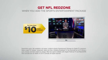 XFINITY TV Spot, 'NFL Redzone' - Thumbnail 8