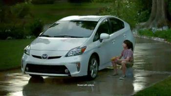 2015 Toyota Prius Liftback TV Spot, 'Rain' - 2160 commercial airings