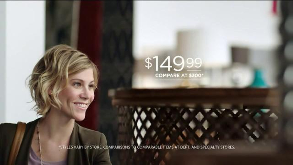 HomeGoods TV Commercial   High End Accent Furniture  Song by Peggy Lee    iSpot tv. HomeGoods TV Commercial   High End Accent Furniture  Song by Peggy