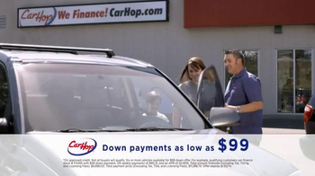 CarHop Auto Sales & Finance TV Spot, 'Need A Car: $99 Down Payments and Warranty' - Thumbnail 7